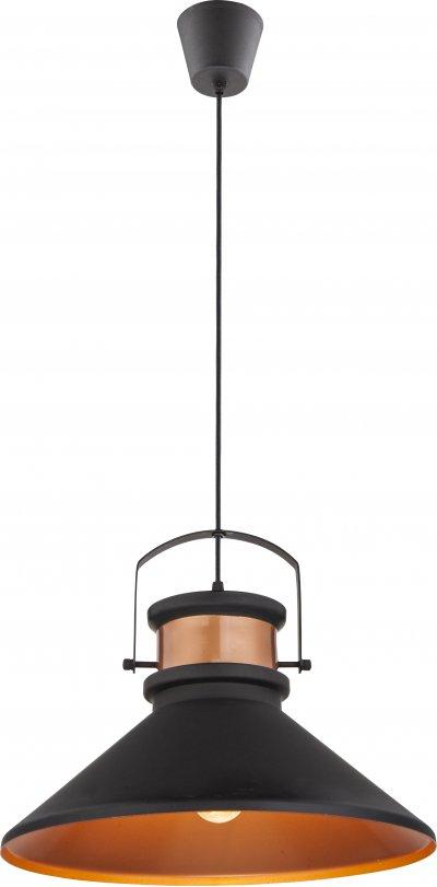 Светильник подвесной Globo 15226Одиночные<br><br><br>Тип лампы: Накаливания / энергосбережения / светодиодная<br>Тип цоколя: E27<br>Цвет арматуры: черный<br>Количество ламп: 1<br>Диаметр, мм мм: 370<br>Высота, мм: 1420<br>MAX мощность ламп, Вт: 60