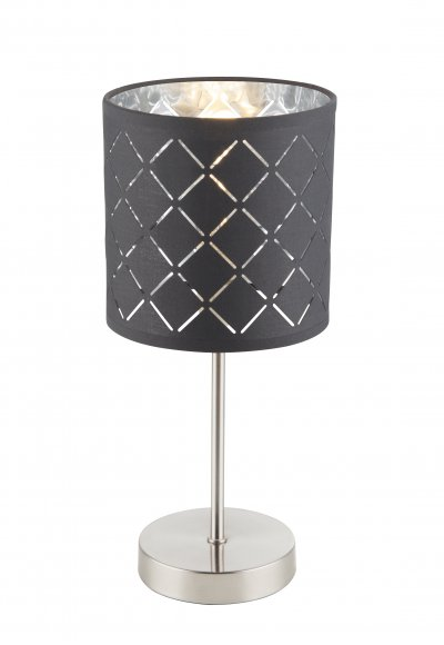 Настольная лампа Globo 15228T KIDALнастольные лампы лофт и ретро стиля<br>Настольная лампа Globo 15228T KIDAL сразу же привлечет внимание благодаря своему необычному лофтовому дизайну и брутальному исполнению. Модель выполнена из качественных материалов, что обеспечивает ее надежную и долговечную работу. Такой вариант светильника можно использовать для интерьера не только гостиной, но и спальни или кабинета.