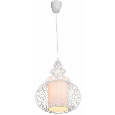 Светильник подвесной Globo 15236 DAMIANОдиночные<br><br><br>Тип товара: Светильник подвесной<br>Скидка, %: 21<br>Тип цоколя: E27<br>Количество ламп: 1<br>MAX мощность ламп, Вт: 40<br>Цвет арматуры: белый