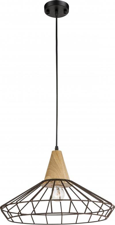 Светильник подвесной Globo 15274Ожидается<br><br><br>Тип цоколя: E27<br>Цвет арматуры: черный<br>Диаметр, мм мм: 335<br>Высота, мм: 1200