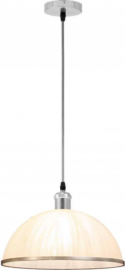 Светильник подвесной Globo 15502Ожидается<br><br><br>Тип цоколя: E27<br>Цвет арматуры: хром серебристый<br>Диаметр, мм мм: 300<br>Высота, мм: 140