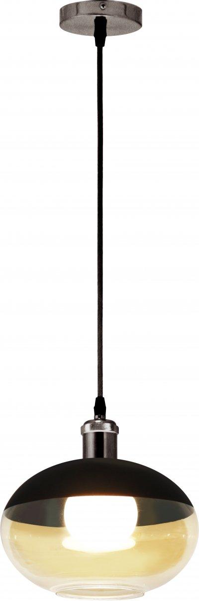 Светильник подвесной Globo 15525Ожидается<br><br><br>Тип цоколя: E27<br>Диаметр, мм мм: 250<br>Высота, мм: 175<br>Цвет арматуры: хром серебристый