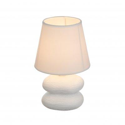 Настольная лампа Globo 21600 KILAUEAОжидается<br><br><br>Тип цоколя: E14<br>Цвет арматуры: белый<br>Количество ламп: 1<br>Диаметр, мм мм: 150<br>Высота, мм: 220<br>MAX мощность ламп, Вт: 40