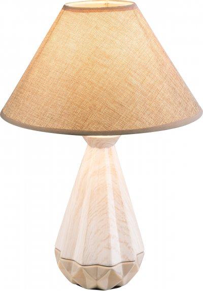 Настольная лампа Globo 21645T1Ожидается<br><br><br>Тип цоколя: E27<br>Диаметр, мм мм: 295<br>Высота, мм: 430<br>Цвет арматуры: бежевый