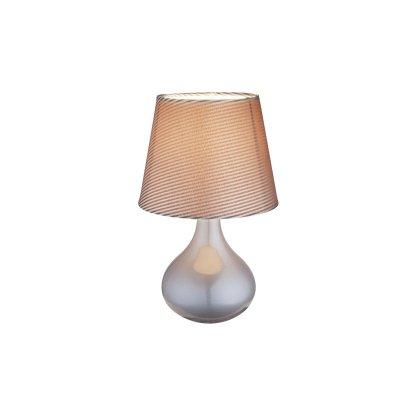 Настольная лампа Globo 21651 FREEDOMСовременные<br>Настольная лампа – это не просто источник дополнительного освещения, но и оригинальный элемент декора. Его можно установить в спальне, гостиной, кабинете и других комнатах. Интернет-магазин «Светодом» предлагает настольные лампы разных стилей по доступным ценам. Благодаря большому ассортименту Вы обязательно найдете в нашем каталоге именно ту модель, которую искали.   Настольная лампа Globo 21651 – прекрасный вариант для завершения интерьера. Ее можно включить одновременно с люстрой для более яркого освещения или без нее для создания уютной атмосферы, настраивающей на отдых.   Купить настольную лампу Globo 21651 Вы можете с помощью виртуальной «Корзины» или по контактным номерам, указанным на сайте.<br><br>Тип цоколя: E14<br>Количество ламп: 1<br>MAX мощность ламп, Вт: 40<br>Диаметр, мм мм: 170<br>Высота, мм: 270<br>Цвет арматуры: серый