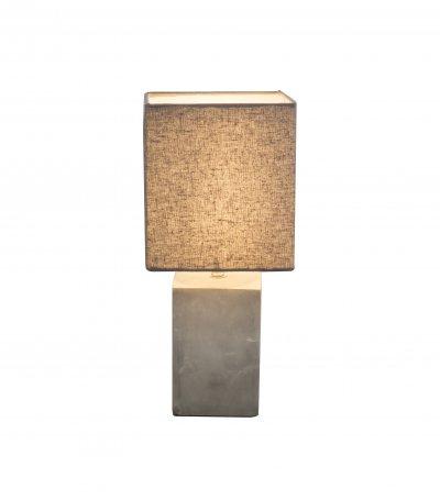 Настольная лампа Globo 21700 ILONAОжидается<br><br><br>Тип цоколя: E14<br>Цвет арматуры: цемент<br>Количество ламп: 1<br>Ширина, мм: 160<br>Длина, мм: 160<br>Высота, мм: 350<br>MAX мощность ламп, Вт: 40