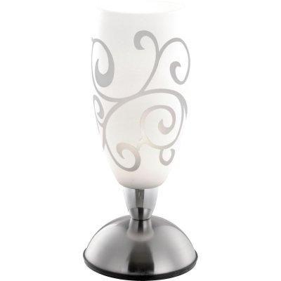 Настольная лампа сенсорная Globo 21922 AurigaСовременные<br>Настольная лампа – это не просто источник дополнительного освещения, но и оригинальный элемент декора. Его можно установить в спальне, гостиной, кабинете и других комнатах. Интернет-магазин «Светодом» предлагает настольные лампы разных стилей по доступным ценам. Благодаря большому ассортименту Вы обязательно найдете в нашем каталоге именно ту модель, которую искали. <br> Настольная лампа Globo 21922 – прекрасный вариант для завершения интерьера. Ее можно включить одновременно с люстрой для более яркого освещения или без нее для создания уютной атмосферы, настраивающей на отдых. <br> Купить настольную лампу Globo 21922 Вы можете с помощью виртуальной «Корзины» или по контактным номерам, указанным на сайте.<br><br>S освещ. до, м2: 2<br>Тип лампы: накаливания / энергосбережения / LED-светодиодная<br>Тип цоколя: E14<br>Цвет арматуры: серый<br>Количество ламп: 1<br>Диаметр, мм мм: 125<br>Высота, мм: 280<br>MAX мощность ламп, Вт: 40