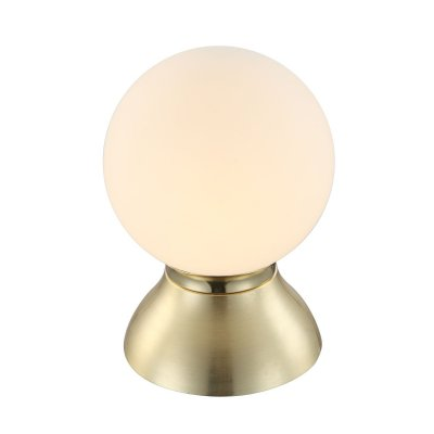 Настольная лампа сенсорная Globo 21929сенсорные настольные лампы<br>Настольная лампа – это не просто источник дополнительного освещения, но и оригинальный элемент декора. Его можно установить в спальне, гостиной, кабинете и других комнатах. Интернет-магазин «Светодом» предлагает настольные лампы разных стилей по доступным ценам. Благодаря большому ассортименту Вы обязательно найдете в нашем каталоге именно ту модель, которую искали. <br> Настольная лампа Globo 21929 – прекрасный вариант для завершения интерьера. Ее можно включить одновременно с люстрой для более яркого освещения или без нее для создания уютной атмосферы, настраивающей на отдых. <br> Купить настольную лампу Globo 21929 Вы можете с помощью виртуальной «Корзины» или по контактным номерам, указанным на сайте.<br><br>Тип цоколя: E14 LED<br>Цвет арматуры: бронзовый<br>Количество ламп: 1<br>Диаметр, мм мм: 140<br>Высота, мм: 200<br>MAX мощность ламп, Вт: 4