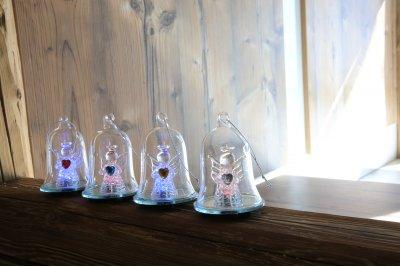 Светильник новогодний Globo 23225-12Подарки и сувениры<br><br><br>Тип цоколя: RGB LED<br>Цвет арматуры: прозрачный