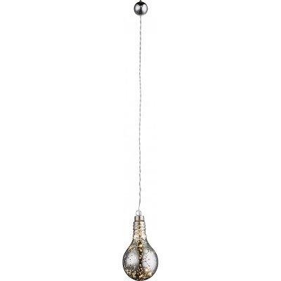 Подвес новогодний Globo 23238одиночные подвесные светильники<br><br><br>Тип лампы: LED<br>Тип цоколя: LED<br>Цвет арматуры: прозрачный<br>Ширина, мм: 80<br>Диаметр, мм мм: 80<br>Высота, мм: 160
