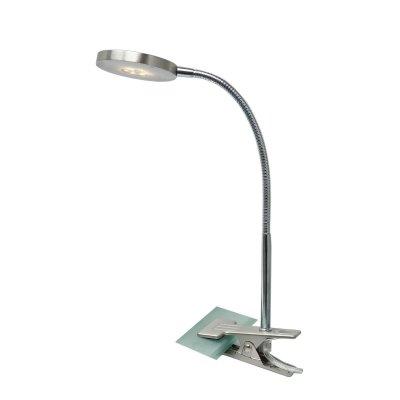 Настольная лампа Globo 24122k DENIZОжидается<br><br><br>Тип цоколя: LED<br>Количество ламп: 1<br>MAX мощность ламп, Вт: 3<br>Цвет арматуры: матовый никель