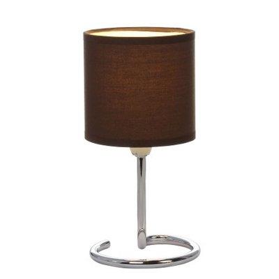 Настольная лампа Globo 24639db ELFIСовременные<br>Настольная лампа – это не просто источник дополнительного освещения, но и оригинальный элемент декора. Его можно установить в спальне, гостиной, кабинете и других комнатах. Интернет-магазин «Светодом» предлагает настольные лампы разных стилей по доступным ценам. Благодаря большому ассортименту Вы обязательно найдете в нашем каталоге именно ту модель, которую искали.   Настольная лампа Globo 24639DB – прекрасный вариант для завершения интерьера. Ее можно включить одновременно с люстрой для более яркого освещения или без нее для создания уютной атмосферы, настраивающей на отдых.   Купить настольную лампу Globo 24639DB Вы можете с помощью виртуальной «Корзины» или по контактным номерам, указанным на сайте.<br><br>Тип цоколя: E14<br>Цвет арматуры: коричневый<br>Количество ламп: 1<br>Диаметр, мм мм: 120<br>Высота, мм: 250<br>MAX мощность ламп, Вт: 40