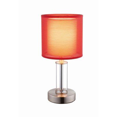 Настольная лампа Globo 24647Ожидается<br><br><br>Тип цоколя: E14<br>Количество ламп: 1<br>MAX мощность ламп, Вт: 40<br>Цвет арматуры: красный