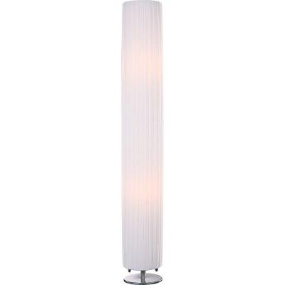 Торшер Globo 24662R BaileyС абажуром<br>Торшер – это не просто функциональный предмет интерьера, позволяющий обеспечить дополнительное освещение, но и оригинальный декоративный элемент. Интернет-магазин «Светодом» предлагает стильные модели от известных производителей по доступным ценам. У нас Вы найдете и классические напольные светильники, и современные варианты. <br> Торшер 24662R Globo сразу же привлекает внимание благодаря своему необычному дизайну. Модель выполнена из качественных материалов, что обеспечит ее надежную и долговечную работу. Такой напольный светильник можно использовать для интерьера не только гостиной, но и спальни или кабинета. <br> Купить торшер 24662R Globo по выгодной стоимости Вы можете с помощью нашего сайта. У нас склады в Москве, Екатеринбурге, Санкт-Петербурге, Новосибирске и другим городам России.<br><br>S освещ. до, м2: 5<br>Тип лампы: накаливания / энергосбережения / LED-светодиодная<br>Тип цоколя: E27<br>Цвет арматуры: серебристый<br>Количество ламп: 2<br>Диаметр, мм мм: 150<br>Высота, мм: 1190<br>MAX мощность ламп, Вт: 40