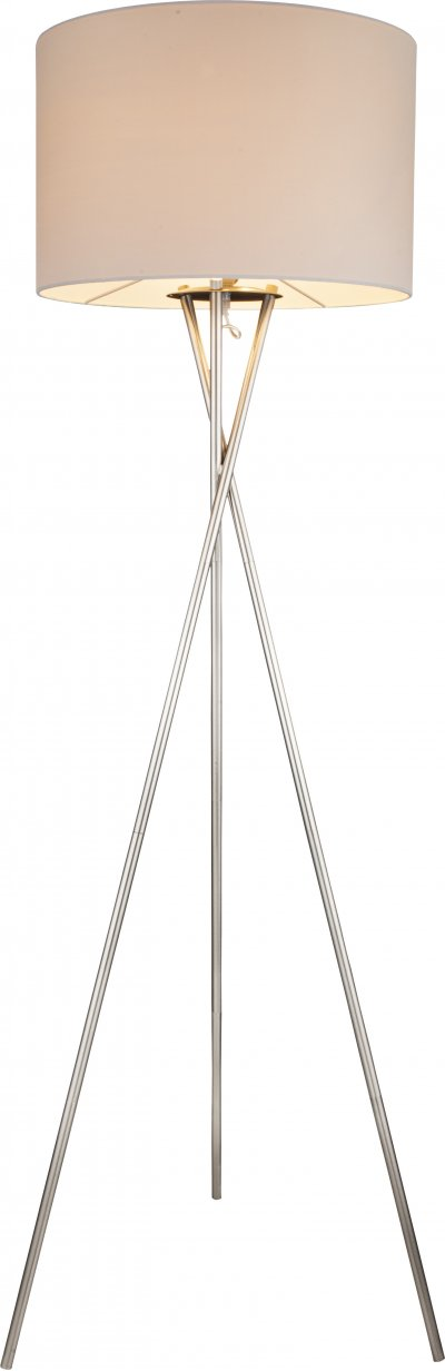 Торшер Globo 24685Nсовременные торшеры<br><br><br>Тип лампы: Накаливания / энергосбережения / светодиодная<br>Тип цоколя: E27<br>Цвет арматуры: бежевый<br>Количество ламп: 1<br>Диаметр, мм мм: 540<br>Высота, мм: 1600<br>MAX мощность ламп, Вт: 60