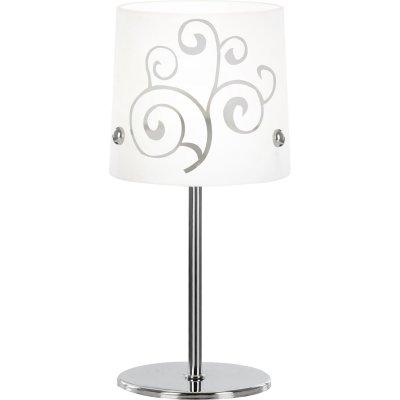 Настольная лампа Globo 24773 CaeliСовременные<br>Настольная лампа – это не просто источник дополнительного освещения, но и оригинальный элемент декора. Его можно установить в спальне, гостиной, кабинете и других комнатах. Интернет-магазин «Светодом» предлагает настольные лампы разных стилей по доступным ценам. Благодаря большому ассортименту Вы обязательно найдете в нашем каталоге именно ту модель, которую искали. <br> Настольная лампа Globo 24773 – прекрасный вариант для завершения интерьера. Ее можно включить одновременно с люстрой для более яркого освещения или без нее для создания уютной атмосферы, настраивающей на отдых. <br> Купить настольную лампу Globo 24773 Вы можете с помощью виртуальной «Корзины» или по контактным номерам, указанным на сайте.<br><br>S освещ. до, м2: 2<br>Тип лампы: накаливания / энергосбережения / LED-светодиодная<br>Тип цоколя: E14<br>Количество ламп: 1<br>MAX мощность ламп, Вт: 40<br>Диаметр, мм мм: 120<br>Высота, мм: 240<br>Цвет арматуры: серебристый