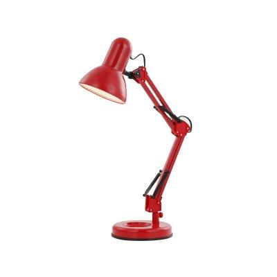 Настольная лампа красная Globo 24882 FamousОфисные<br>Настольная лампа – это не просто источник дополнительного освещения, но и оригинальный элемент декора. Его можно установить в спальне, гостиной, кабинете и других комнатах. Интернет-магазин «Светодом» предлагает настольные лампы разных стилей по доступным ценам. Благодаря большому ассортименту Вы обязательно найдете в нашем каталоге именно ту модель, которую искали. <br> Настольная лампа Globo 24882 – прекрасный вариант для завершения интерьера. Ее можно включить одновременно с люстрой для более яркого освещения или без нее для создания уютной атмосферы, настраивающей на отдых. <br> Купить настольную лампу Globo 24882 Вы можете с помощью виртуальной «Корзины» или по контактным номерам, указанным на сайте.<br><br>S освещ. до, м2: 2<br>Тип лампы: накал-я - энергосбер-я<br>Тип цоколя: E27<br>Цвет арматуры: красный<br>Количество ламп: 1<br>Диаметр, мм мм: 155<br>Длина, мм: 240<br>Высота, мм: 590<br>MAX мощность ламп, Вт: 40