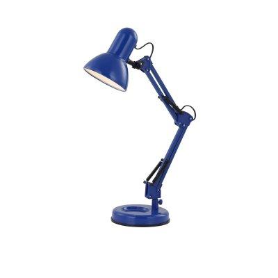 Настольная лампа Globo 24883 FamousОфисные<br>Настольная лампа – это не просто источник дополнительного освещения, но и оригинальный элемент декора. Его можно установить в спальне, гостиной, кабинете и других комнатах. Интернет-магазин «Светодом» предлагает настольные лампы разных стилей по доступным ценам. Благодаря большому ассортименту Вы обязательно найдете в нашем каталоге именно ту модель, которую искали. <br> Настольная лампа Globo 24883 – прекрасный вариант для завершения интерьера. Ее можно включить одновременно с люстрой для более яркого освещения или без нее для создания уютной атмосферы, настраивающей на отдых. <br> Купить настольную лампу Globo 24883 Вы можете с помощью виртуальной «Корзины» или по контактным номерам, указанным на сайте.<br><br>S освещ. до, м2: 2<br>Тип лампы: накал-я - энергосбер-я<br>Тип цоколя: E27<br>Цвет арматуры: синий<br>Количество ламп: 1<br>Диаметр, мм мм: 155<br>Длина, мм: 240<br>Высота, мм: 590<br>MAX мощность ламп, Вт: 40