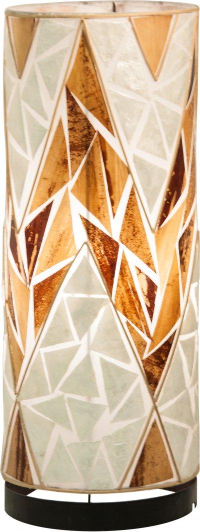 Настольная лампа Globo 25829TТиффани<br><br><br>Тип цоколя: E27<br>Цвет арматуры: бежевый<br>Высота, мм: 500