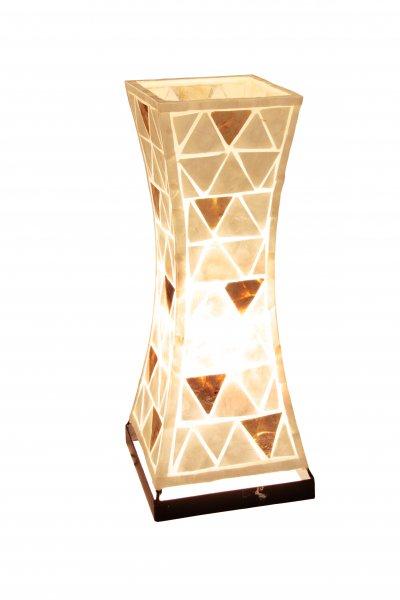 Настольная лампа Globo 25837T BALIОжидается<br><br><br>Тип цоколя: E27<br>Цвет арматуры: перламутр<br>Количество ламп: 1<br>Ширина, мм: 210<br>Длина, мм: 210<br>Высота, мм: 510<br>MAX мощность ламп, Вт: 40