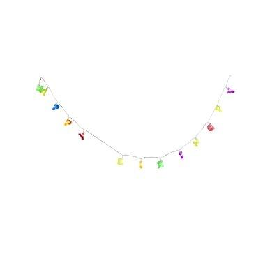 Гирлянда праздничная happy birthday Globo 29972Новогодние гирлянды<br><br><br>Тип цоколя: LED<br>Цвет арматуры: разноцветный<br>Количество ламп: 13<br>Длина, мм: 1200<br>MAX мощность ламп, Вт: 0,06