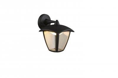 Светильник уличный DELIO 31826 GloboНастенные<br><br><br>Цветовая t, К: 3000<br>Тип цоколя: LED<br>Цвет арматуры: черный<br>Количество ламп: 1<br>Ширина, мм: 162<br>Глубина, мм: 194<br>Высота, мм: 232<br>MAX мощность ламп, Вт: 7