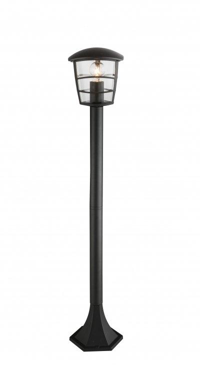 Светильник уличный OMERO 31838 GloboОжидается<br><br><br>Тип цоколя: E27<br>Цвет арматуры: черный<br>Количество ламп: 1<br>Ширина, мм: 170<br>Длина, мм: 170<br>Высота, мм: 940<br>MAX мощность ламп, Вт: 60