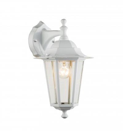 Светильник уличный ADAMO 31871 GloboНастенные<br><br><br>Тип лампы: Накаливания / энергосбережения / светодиодная<br>Тип цоколя: E27<br>Цвет арматуры: белый с патиной<br>Количество ламп: 1<br>Ширина, мм: 195<br>Глубина, мм: 215<br>Высота, мм: 215<br>MAX мощность ламп, Вт: 60