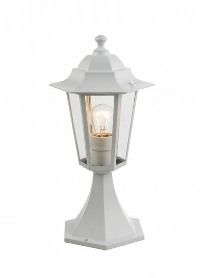 Светильник уличный ADAMO 31872 GloboОжидается<br><br><br>Тип цоколя: E27<br>Количество ламп: 1<br>Ширина, мм: 195<br>MAX мощность ламп, Вт: 60<br>Длина, мм: 195<br>Высота, мм: 410<br>Цвет арматуры: белый с патиной