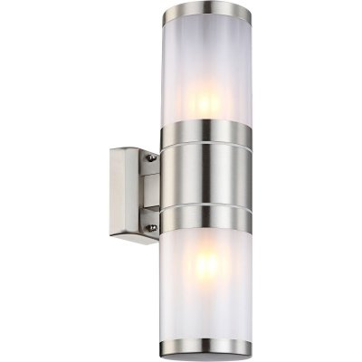 Светильник уличный Globo 32014-2 XelooНастенные<br>Обеспечение качественного уличного освещения – важная задача для владельцев коттеджей. Компания «Светодом» предлагает современные светильники, которые порадуют Вас отличным исполнением. В нашем каталоге представлена продукция известных производителей, пользующихся популярностью благодаря высокому качеству выпускаемых товаров.   Уличный светильник Globo 32014-2 не просто обеспечит качественное освещение, но и станет украшением Вашего участка. Модель выполнена из современных материалов и имеет влагозащитный корпус, благодаря которому ей не страшны осадки.   Купить уличный светильник Globo 32014-2, представленный в нашем каталоге, можно с помощью онлайн-формы для заказа. Чтобы задать имеющиеся вопросы, звоните нам по указанным телефонам.<br><br>S освещ. до, м2: 6 - 8<br>Тип лампы: накаливания / энергосбережения / LED-светодиодная<br>Тип цоколя: E27<br>Цвет арматуры: серебристый<br>Количество ламп: 2<br>Ширина, мм: 155<br>Высота, мм: 370<br>MAX мощность ламп, Вт: 60