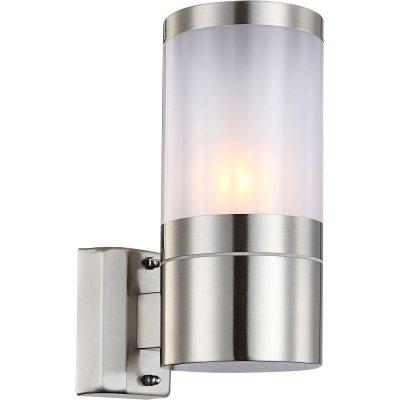 Светильник бра Globo 32014 XelooНастенные<br>Обеспечение качественного уличного освещения – важная задача для владельцев коттеджей. Компания «Светодом» предлагает современные светильники, которые порадуют Вас отличным исполнением. В нашем каталоге представлена продукция известных производителей, пользующихся популярностью благодаря высокому качеству выпускаемых товаров.   Уличный светильник Globo 32014 не просто обеспечит качественное освещение, но и станет украшением Вашего участка. Модель выполнена из современных материалов и имеет влагозащитный корпус, благодаря которому ей не страшны осадки.   Купить уличный светильник Globo 32014, представленный в нашем каталоге, можно с помощью онлайн-формы для заказа. Чтобы задать имеющиеся вопросы, звоните нам по указанным телефонам.<br><br>S освещ. до, м2: 3 - 4<br>Тип лампы: накаливания / энергосбережения / LED-светодиодная<br>Тип цоколя: E27<br>Цвет арматуры: серебристый<br>Количество ламп: 1<br>Ширина, мм: 155<br>Высота, мм: 240<br>MAX мощность ламп, Вт: 60