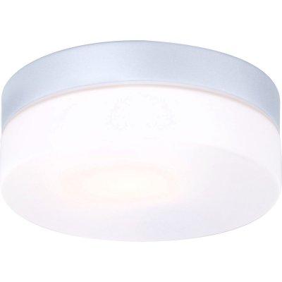 Светильник Globo 32111 VranosПотолочные<br>Обеспечение качественного уличного освещения – важная задача для владельцев коттеджей. Компания «Светодом» предлагает современные светильники, которые порадуют Вас отличным исполнением. В нашем каталоге представлена продукция известных производителей, пользующихся популярностью благодаря высокому качеству выпускаемых товаров. <br> Уличный светильник Globo 32111 не просто обеспечит качественное освещение, но и станет украшением Вашего участка. Модель выполнена из современных материалов и имеет влагозащитный корпус, благодаря которому ей не страшны осадки. <br> Купить уличный светильник Globo 32111, представленный в нашем каталоге, можно с помощью онлайн-формы для заказа. Чтобы задать имеющиеся вопросы, звоните нам по указанным телефонам.<br><br>S освещ. до, м2: 3 - 4<br>Тип лампы: накаливания / энергосбережения / LED-светодиодная<br>Тип цоколя: E27<br>Цвет арматуры: серый<br>Количество ламп: 1<br>Диаметр, мм мм: 185<br>Высота, мм: 67<br>MAX мощность ламп, Вт: 60