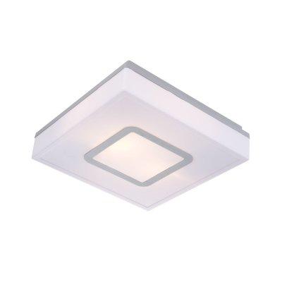 Светильник Globo 32212 LesterКвадратные<br><br><br>S освещ. до, м2: 6<br>Тип товара: Светильник уличный<br>Скидка, %: 21<br>Тип лампы: накаливания / энергосбережения / LED-светодиодная<br>Тип цоколя: E27<br>Количество ламп: 2<br>Ширина, мм: 280<br>MAX мощность ламп, Вт: 20<br>Длина, мм: 280<br>Высота, мм: 80<br>Цвет арматуры: серый