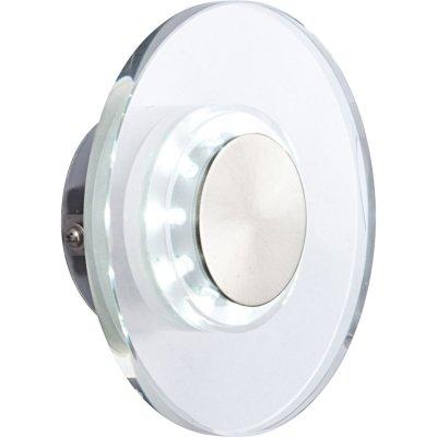 Светильник бра Globo 32401 DanaХай-тек<br><br><br>S освещ. до, м2: 3<br>Тип лампы: LED - светодиодная<br>Тип цоколя: LED<br>Количество ламп: 1<br>Ширина, мм: 150<br>MAX мощность ламп, Вт: 0,6<br>Диаметр, мм мм: 150<br>Расстояние от стены, мм: 55<br>Высота, мм: 55<br>Цвет арматуры: серый