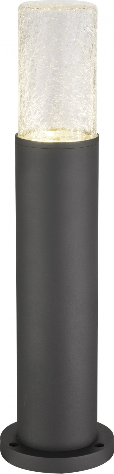 Светильник уличный Globo 32409S1Ожидается<br><br><br>Тип цоколя: LED<br>Цвет арматуры: черный<br>Диаметр, мм мм: 125<br>Высота, мм: 500