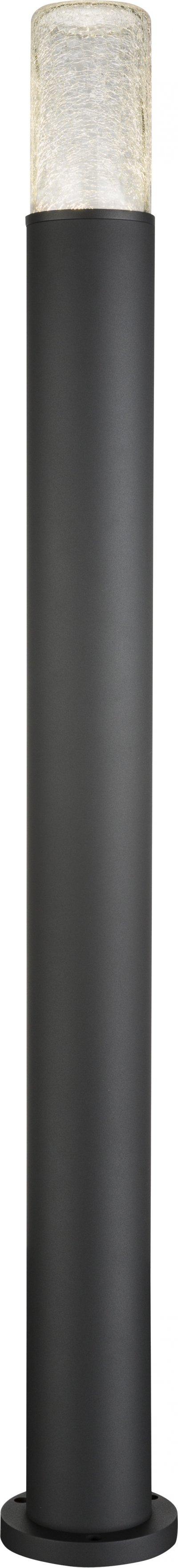 Светильник уличный Globo 32409S2Одиночные столбы<br><br><br>Тип цоколя: LED<br>Цвет арматуры: черный<br>Диаметр, мм мм: 125<br>Высота, мм: 1100