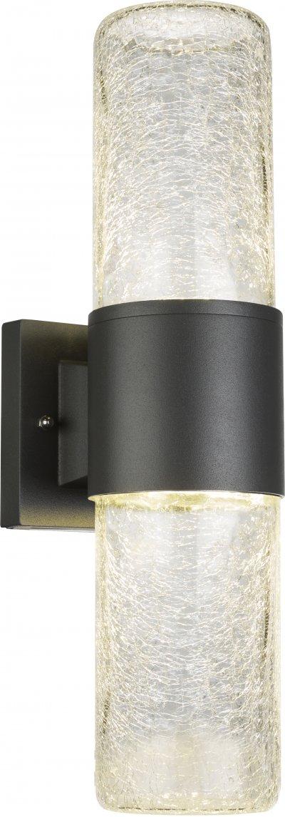 Светильник уличный Globo 32409WОжидается<br><br><br>Тип цоколя: LED<br>Глубина, мм: 130<br>Высота, мм: 100<br>Цвет арматуры: черный