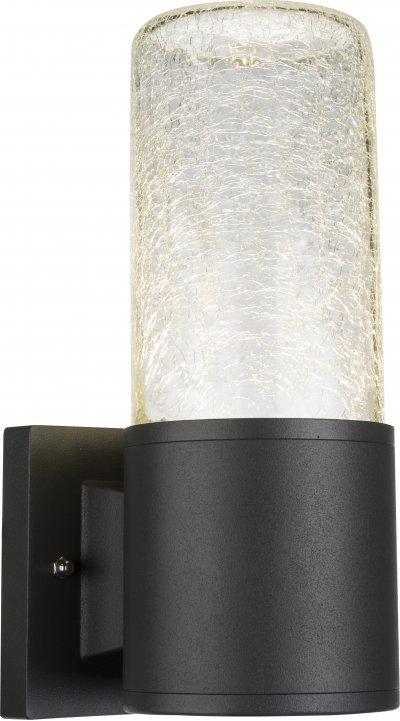 Светильник уличный Globo 32409Ожидается<br><br><br>Тип цоколя: LED<br>Цвет арматуры: черный<br>Ширина, мм: 100<br>Глубина, мм: 131<br>Высота, мм: 237