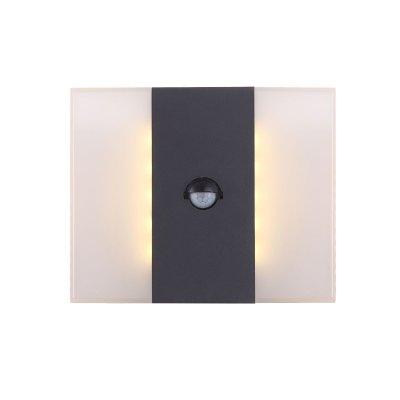 Светильник Globo 34167SНастенные<br>Обеспечение качественного уличного освещения – важная задача для владельцев коттеджей. Компания «Светодом» предлагает современные светильники, которые порадуют Вас отличным исполнением. В нашем каталоге представлена продукция известных производителей, пользующихся популярностью благодаря высокому качеству выпускаемых товаров.   Уличный светильник Globo 34167S не просто обеспечит качественное освещение, но и станет украшением Вашего участка. Модель выполнена из современных материалов и имеет влагозащитный корпус, благодаря которому ей не страшны осадки.   Купить уличный светильник Globo 34167S, представленный в нашем каталоге, можно с помощью онлайн-формы для заказа. Чтобы задать имеющиеся вопросы, звоните нам по указанным телефонам.<br><br>Тип цоколя: LED<br>Цвет арматуры: черный<br>Количество ламп: 1<br>Ширина, мм: 85<br>Длина, мм: 210<br>Высота, мм: 170<br>MAX мощность ламп, Вт: 11,6