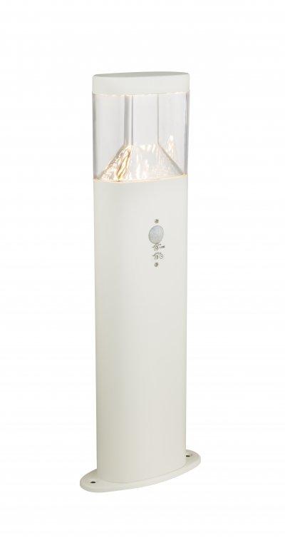 Светильник уличный Globo 34204S ACCORОжидается<br><br><br>Цветовая t, К: 3000<br>Тип цоколя: LED<br>Цвет арматуры: сталь<br>Количество ламп: 1<br>Ширина, мм: 80<br>Длина, мм: 180<br>Высота, мм: 500<br>MAX мощность ламп, Вт: 7,5