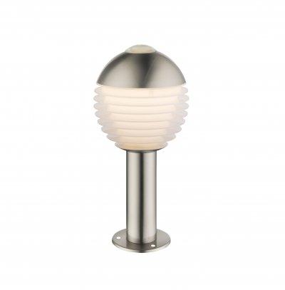 Светильник уличный Globo 34289 ALERIOОжидается<br><br><br>Цветовая t, К: 3000<br>Тип цоколя: LED<br>Цвет арматуры: сталь<br>Количество ламп: 1<br>Диаметр, мм мм: 150<br>Высота, мм: 330<br>MAX мощность ламп, Вт: 11