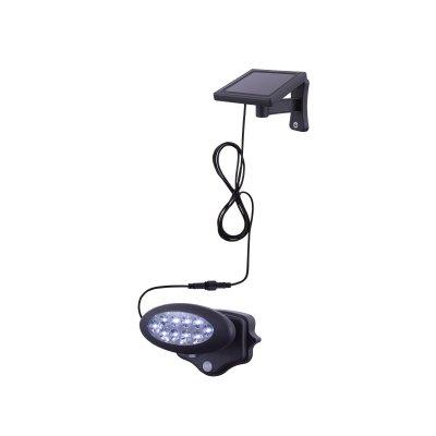 Светильник уличный с датчиком движения Globo 3722SПрожекторы с датчиком<br>Обеспечение качественного уличного освещения – важная задача для владельцев коттеджей. Компания «Светодом» предлагает современные светильники, которые порадуют Вас отличным исполнением. В нашем каталоге представлена продукция известных производителей, пользующихся популярностью благодаря высокому качеству выпускаемых товаров.   Уличный светильник Globo 3722S не просто обеспечит качественное освещение, но и станет украшением Вашего участка. Модель выполнена из современных материалов и имеет влагозащитный корпус, благодаря которому ей не страшны осадки.   Купить уличный светильник Globo 3722S, представленный в нашем каталоге, можно с помощью онлайн-формы для заказа. Чтобы задать имеющиеся вопросы, звоните нам по указанным телефонам.<br><br>Тип лампы: LED<br>Тип цоколя: LED<br>Цвет арматуры: черный<br>Количество ламп: 10<br>Ширина, мм: 170<br>Высота, мм: 113<br>MAX мощность ламп, Вт: 0,06