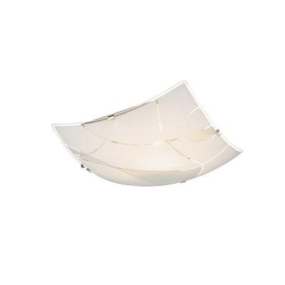 Светильник потолочный Globo 40403-1Квадратные<br>Настенно-потолочные светильники – это универсальные осветительные варианты, которые подходят для вертикального и горизонтального монтажа. В интернет-магазине «Светодом» Вы можете приобрести подобные модели по выгодной стоимости. В нашем каталоге представлены как бюджетные варианты, так и эксклюзивные изделия от производителей, которые уже давно заслужили доверие дизайнеров и простых покупателей.  Настенно-потолочный светильник Globo 40403-1 станет прекрасным дополнением к основному освещению. Благодаря качественному исполнению и применению современных технологий при производстве эта модель будет радовать Вас своим привлекательным внешним видом долгое время. Приобрести настенно-потолочный светильник Globo 40403-1 можно, находясь в любой точке России.<br><br>S освещ. до, м2: 3<br>Тип цоколя: E27 ILLU<br>Цвет арматуры: серебристый<br>Количество ламп: 1<br>Ширина, мм: 250<br>Длина, мм: 250<br>Высота, мм: 60<br>MAX мощность ламп, Вт: 60