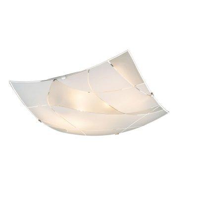 Светильник потолочный Globo 40403-2Квадратные<br>Настенно-потолочные светильники – это универсальные осветительные варианты, которые подходят для вертикального и горизонтального монтажа. В интернет-магазине «Светодом» Вы можете приобрести подобные модели по выгодной стоимости. В нашем каталоге представлены как бюджетные варианты, так и эксклюзивные изделия от производителей, которые уже давно заслужили доверие дизайнеров и простых покупателей.  Настенно-потолочный светильник Globo 40403-2 станет прекрасным дополнением к основному освещению. Благодаря качественному исполнению и применению современных технологий при производстве эта модель будет радовать Вас своим привлекательным внешним видом долгое время. Приобрести настенно-потолочный светильник Globo 40403-2 можно, находясь в любой точке России.<br><br>S освещ. до, м2: 6<br>Тип цоколя: E27 ILLU<br>Цвет арматуры: серебристый<br>Количество ламп: 2<br>Ширина, мм: 300<br>Длина, мм: 300<br>Высота, мм: 65<br>MAX мощность ламп, Вт: 60