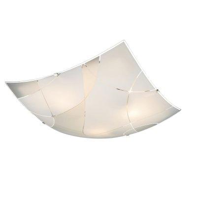 Светильник потолочный Globo 40403-3квадратные светильники<br>Настенно-потолочные светильники – это универсальные осветительные варианты, которые подходят для вертикального и горизонтального монтажа. В интернет-магазине «Светодом» Вы можете приобрести подобные модели по выгодной стоимости. В нашем каталоге представлены как бюджетные варианты, так и эксклюзивные изделия от производителей, которые уже давно заслужили доверие дизайнеров и простых покупателей.  Настенно-потолочный светильник Globo 40403-3 станет прекрасным дополнением к основному освещению. Благодаря качественному исполнению и применению современных технологий при производстве эта модель будет радовать Вас своим привлекательным внешним видом долгое время. Приобрести настенно-потолочный светильник Globo 40403-3 можно, находясь в любой точке России.<br><br>S освещ. до, м2: 9<br>Тип цоколя: E27 ILLU<br>Цвет арматуры: серебристый<br>Количество ламп: 3<br>Ширина, мм: 400<br>Длина, мм: 400<br>Высота, мм: 80<br>MAX мощность ламп, Вт: 60