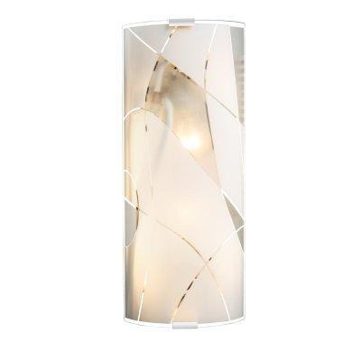 Светильник настенный Globo 40403W1Накладные<br><br><br>Тип цоколя: E27 ILLU<br>Количество ламп: 2<br>Ширина, мм: 150<br>MAX мощность ламп, Вт: 60<br>Длина, мм: 360<br>Высота, мм: 60<br>Цвет арматуры: серебристый