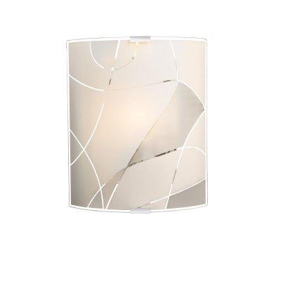 Светильник настенный Globo 40403W2накладные настенные светильники<br><br><br>Тип цоколя: E27 ILLU<br>Цвет арматуры: серебристый<br>Количество ламп: 1<br>Ширина, мм: 260<br>Длина, мм: 220<br>Высота, мм: 80<br>MAX мощность ламп, Вт: 60