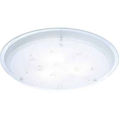 Светильник круглый Globo 40409-3 Brendaкруглые светильники<br>Настенно-потолочные светильники – это универсальные осветительные варианты, которые подходят для вертикального и горизонтального монтажа. В интернет-магазине «Светодом» Вы можете приобрести подобные модели по выгодной стоимости. В нашем каталоге представлены как бюджетные варианты, так и эксклюзивные изделия от производителей, которые уже давно заслужили доверие дизайнеров и простых покупателей.  Настенно-потолочный светильник Globo 40409-3 станет прекрасным дополнением к основному освещению. Благодаря качественному исполнению и применению современных технологий при производстве эта модель будет радовать Вас своим привлекательным внешним видом долгое время.  Приобрести настенно-потолочный светильник Globo 40409-3 можно, находясь в любой точке России.<br><br>S освещ. до, м2: 8<br>Тип лампы: накаливания / энергосбережения / LED-светодиодная<br>Тип цоколя: E27 ILLU<br>Цвет арматуры: серебристый<br>Количество ламп: 3<br>Ширина, мм: 460<br>Диаметр, мм мм: 460<br>Длина, мм: 460<br>Расстояние от стены, мм: 85<br>Высота, мм: 85<br>Оттенок (цвет): белый<br>MAX мощность ламп, Вт: 40