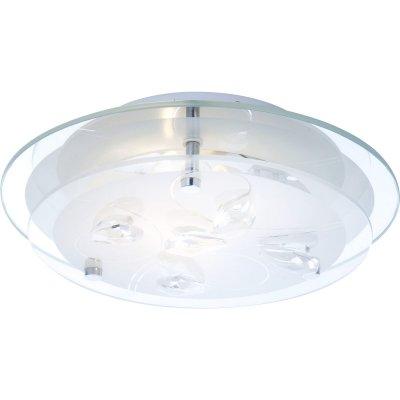 Светильник Globo 40409 BrendaКруглые<br>Настенно-потолочные светильники – это универсальные осветительные варианты, которые подходят для вертикального и горизонтального монтажа. В интернет-магазине «Светодом» Вы можете приобрести подобные модели по выгодной стоимости. В нашем каталоге представлены как бюджетные варианты, так и эксклюзивные изделия от производителей, которые уже давно заслужили доверие дизайнеров и простых покупателей.  Настенно-потолочный светильник Globo 40409 станет прекрасным дополнением к основному освещению. Благодаря качественному исполнению и применению современных технологий при производстве эта модель будет радовать Вас своим привлекательным внешним видом долгое время.  Приобрести настенно-потолочный светильник Globo 40409 можно, находясь в любой точке России.<br><br>S освещ. до, м2: 4<br>Тип лампы: накаливания / энергосбережения / LED-светодиодная<br>Тип цоколя: E27 ILLU<br>Цвет арматуры: серебристый<br>Количество ламп: 1<br>Ширина, мм: 240<br>Диаметр, мм мм: 240<br>Длина, мм: 240<br>Расстояние от стены, мм: 85<br>Высота, мм: 85<br>Оттенок (цвет): белый<br>MAX мощность ламп, Вт: 60