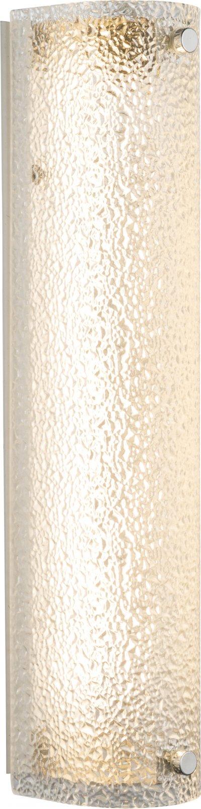 Светильник настенный Globo 40420-14WОжидается<br><br><br>Тип цоколя: LED<br>Цвет арматуры: хром серебристый<br>Ширина, мм: 350<br>Высота, мм: 70